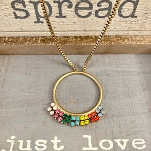 COLORFUL DESIGNER NECKLACE FOR A CASUAL CHIC LOOK